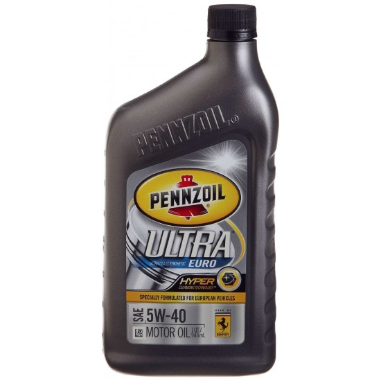 Wts Pennzoil Ultra 5w 40 Euro Full Synthetic Engine Oil