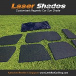 Laser Shades Magnetic Car Sunshade