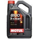 Motul X-Clean 8100 5W-30 Fully Synthetic Engine Oil - 5L