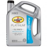 Pennzoil Platinum 0W20 Pure Plus Technology Full Synthetic Motor Oil - 5 Quart