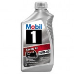 Mobil 1 Racing 4T 10W-40 Full Synthetic Motorcycle Oil - 1 qt(946ml)