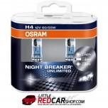 OSRAM Night Breaker UNLIMITED - H4 / H7 (Twin Pack)