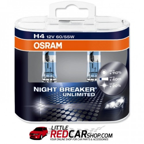 osram night breaker unlimited h4 h7 twin pack. Black Bedroom Furniture Sets. Home Design Ideas