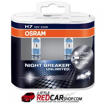 OSRAM Night Breaker UNLIMITED - H4 / H7 (Twin Pack)