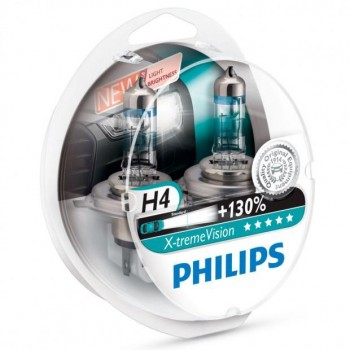 PHILIPS X-treme Vision +130% H4 (Twin Pack)
