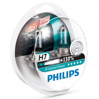 PHILIPS X-treme Vision +130% H7 (Twin Pack)