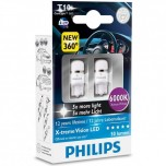 PHILIPS X-treme Vision 360 LED W5W T10 6000K (Twin)