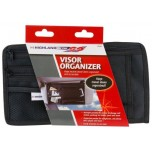 Car Visor Storage Organiser (Large Zipper Compartment)