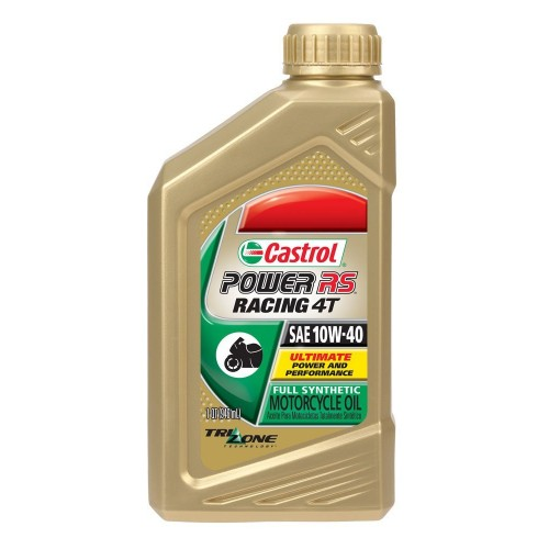 On sale castrol power rs racing 4t 10w40 full for Sales on motor oil