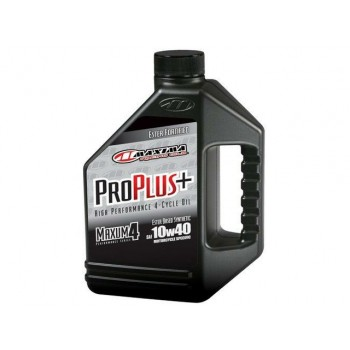 Maxima Pro Plus 10W40 Ester Based Synthetic Motorcycle Oil - 1Gal (3.784L)