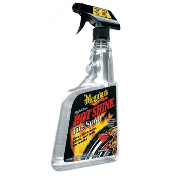 Meguiar's® Hot Shine™ High-Gloss Tire Spray. 24 oz.