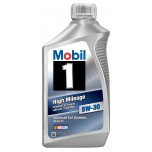Mobil 1 5W-30 High Mileage - 1 qt (946ml)