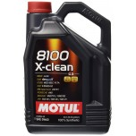 Motul X-Clean 8100 5W-40 Fully Synthetic Engine Oil - 5L