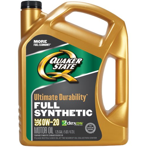 Quaker State Ultimate Durability 0w 20 Full Synthetic